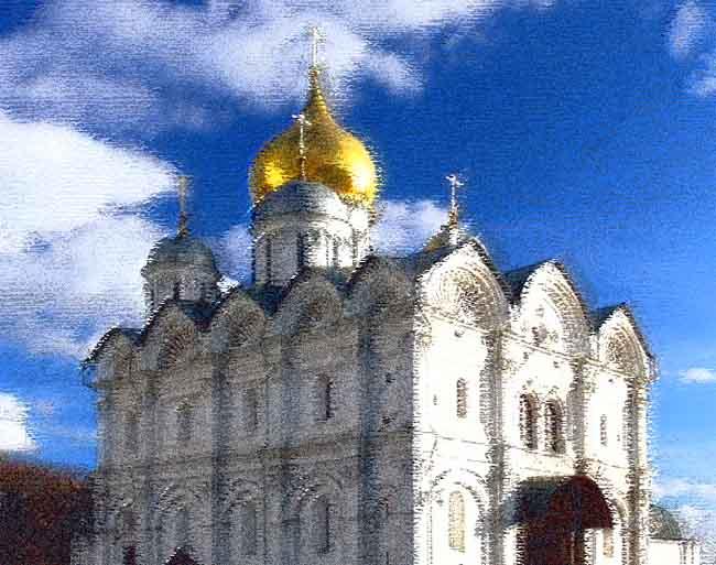 Архангельский собор рисунок