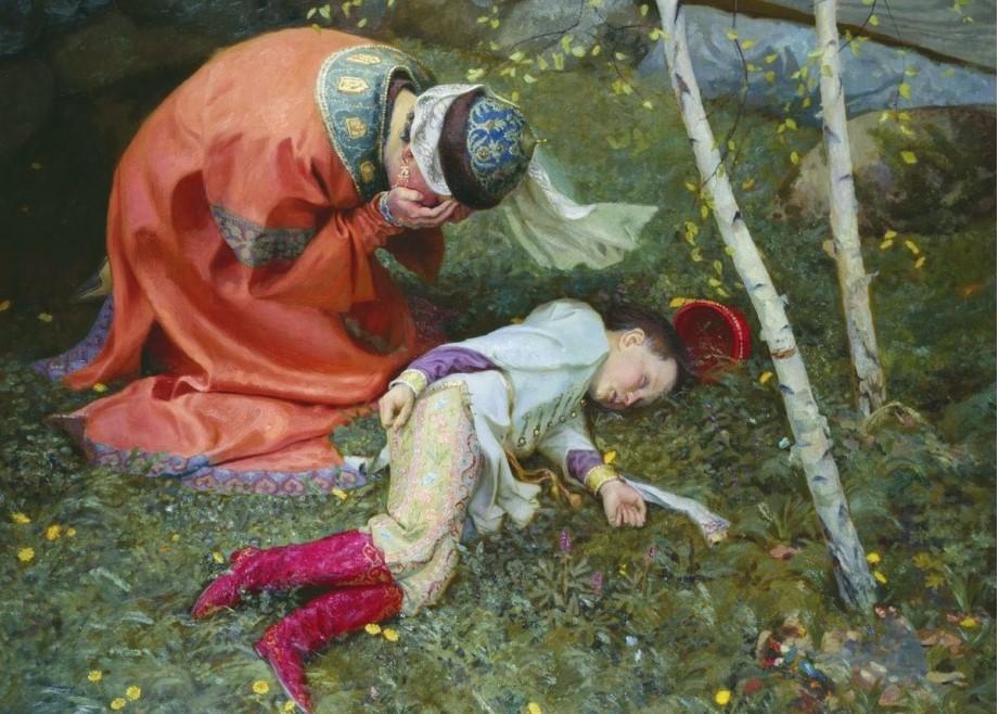 Смерть царевича Дмитрия, картина