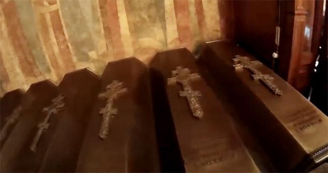 Гробницы князей Старицких, Архангельский собор