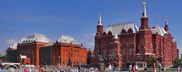 Исторический Музей на Красной площади и музей 1812 года